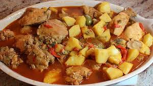 Fricase de Pollo Tradicional (Traditional Chicken Fricassee)