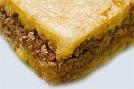 Pastelon de Amarillos (Yellow Plantain and Meat Pie)
