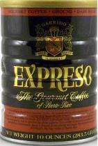 EXPRESO is Puerto Rico's first Gourmet Coffee. Its intense aroma and exquisite flavor are the result of our meticulous care in selecting only Super-Premium beans of the Arabica variety, grown in Puerto Rico's best coffee Hacienda. EXPRESO is produced under the strictest internationals standards for Gourmet quality and so certified by coffee experts. It's a coffee of distinction preferred by the most demanding connoisseurs. Serve it brewed or percolated and enjoy this extraordinary coffee. EXPRESO , the best coffee of Puerto Rico.